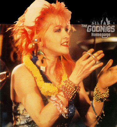 Cyndi Lauper『Goonies 'R' Good Enough』♪♪♪