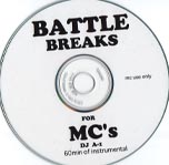 CD紹介 vol.49 BATTLE BREAKS