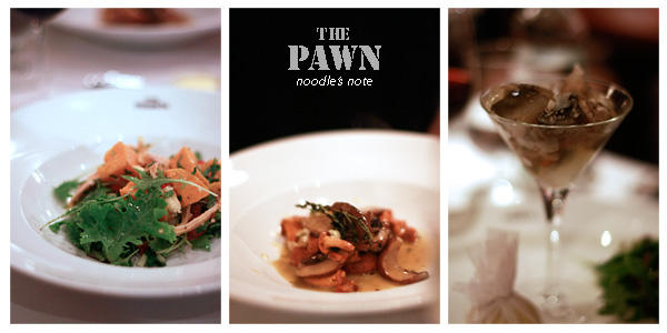 Dinner at The Pawn  「The Pawn」でお友達ご夫婦とディナー☆
