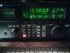 My DRAKE R8B on RFI at 15,300kHz.