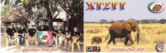 Newly arrived QSL from XT2TT