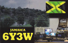 Newly arrived QSL from 6Y3W