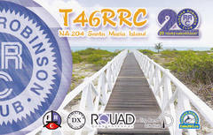 Newly arrived QSL from T46RRC & T47RRC