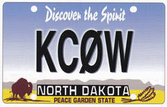 Newly arrived QSL from KC0W