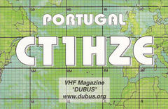 Newly arrived QSL from CT1HZE