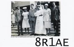 Newly arrived QSL from 8R1AE