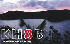 Newly arrived QSL from KH8B