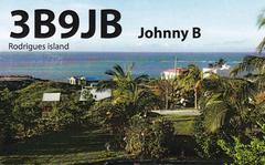 Newly arrived QSL from 3B9JB
