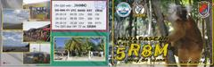Newly arrived QSL from 5R8M