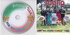 Newly arrived QSL & DVD from 9Q0HQ