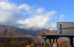 ★白馬の秋★HAKUBA MOUNTAIN HARBOR から…
