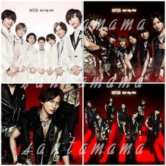 ☆Kis-My-Ft2「INTER」ジャケ写☆