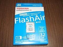 秋月パーツ、FlashAir W-03 32GB