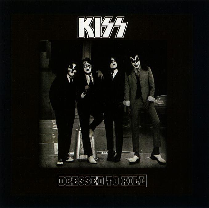 「冬休みの宿題(11)『ROCK A TO Z』のK」 KISS/DRESSED TO KILL