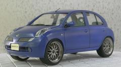 1/24 K12 マーチ 15E(フジミ 「12c 5door V Selection」使用)