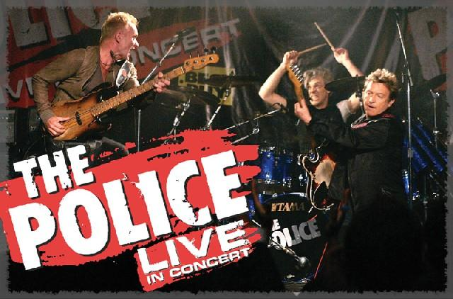THE POLICE LIVE in Concert 2月14日東京ドーム公演