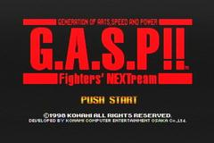 G.A.S.P!! Fighters' NEXTream (N64)