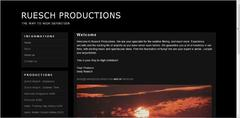 RUESCH PRODUCTIONS − THE WAY TO HIGH DEFINITION