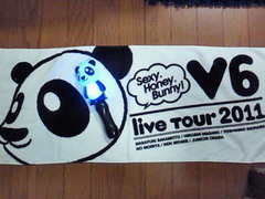 V6 LIVE TOUR 2011 Sexy.Honey.Bunny! (*^^)v