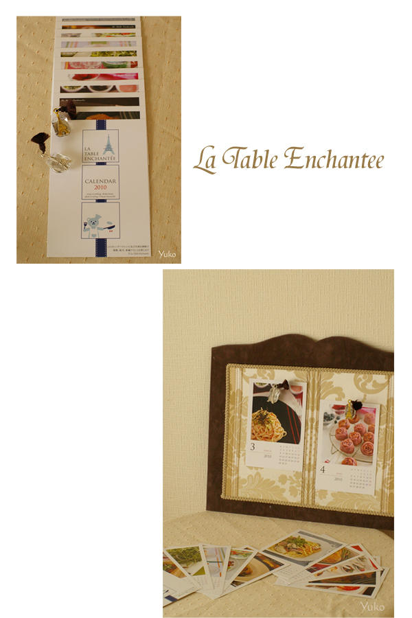 La Table Enchantee Calender