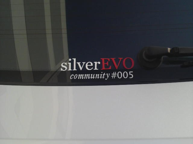 silver EVO community#005 & TOY SPEAR