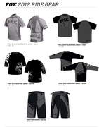 FOX 2012 RIDE GEAR