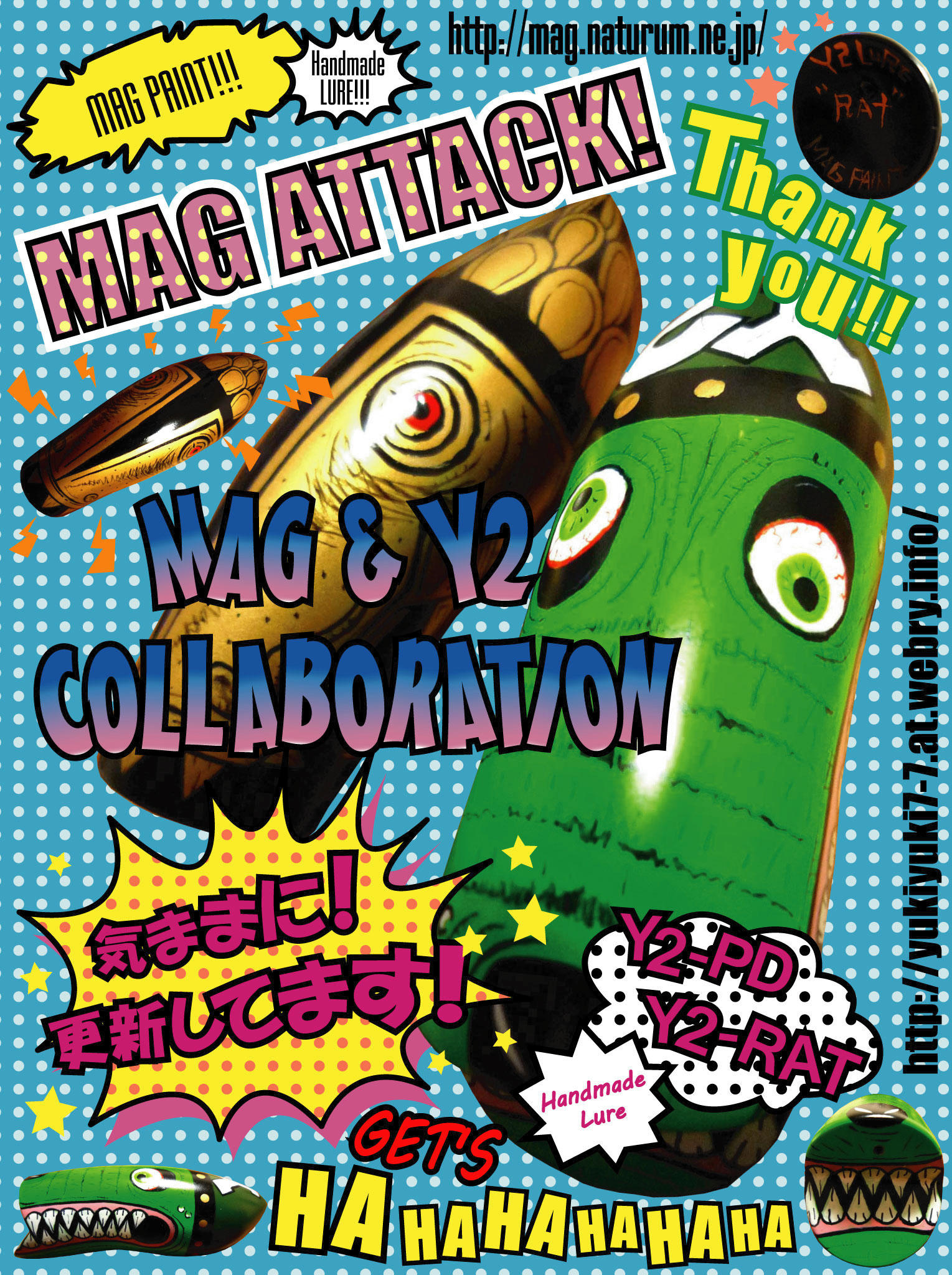 MAG & Y2 COLLABORATION!!!!!!!