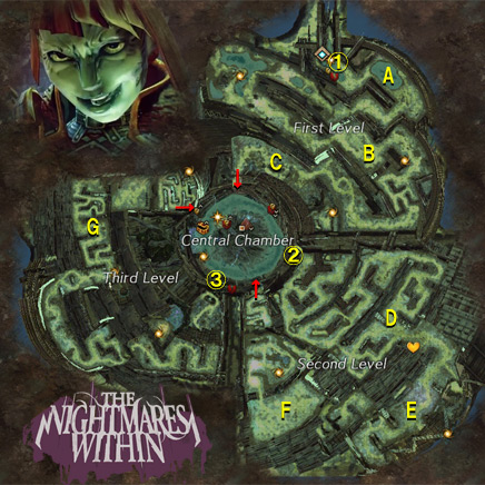 The Nightmare Within: Tower of Nightmares MAP