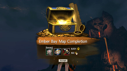 Map Complete: Ember Bay
