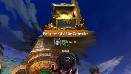 Domain of Vabbi Map completion