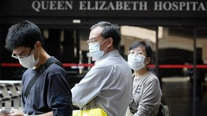 AFP Queen Elizabeth hospital in Hong Kong, in a November 2003 file photo .jpeg