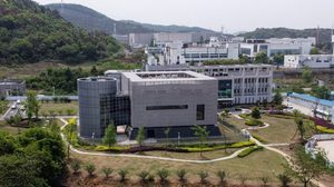 Wuhan Institute of Virology in Wuhan in China's central Hubei province (AFP)2のコピー.jpg