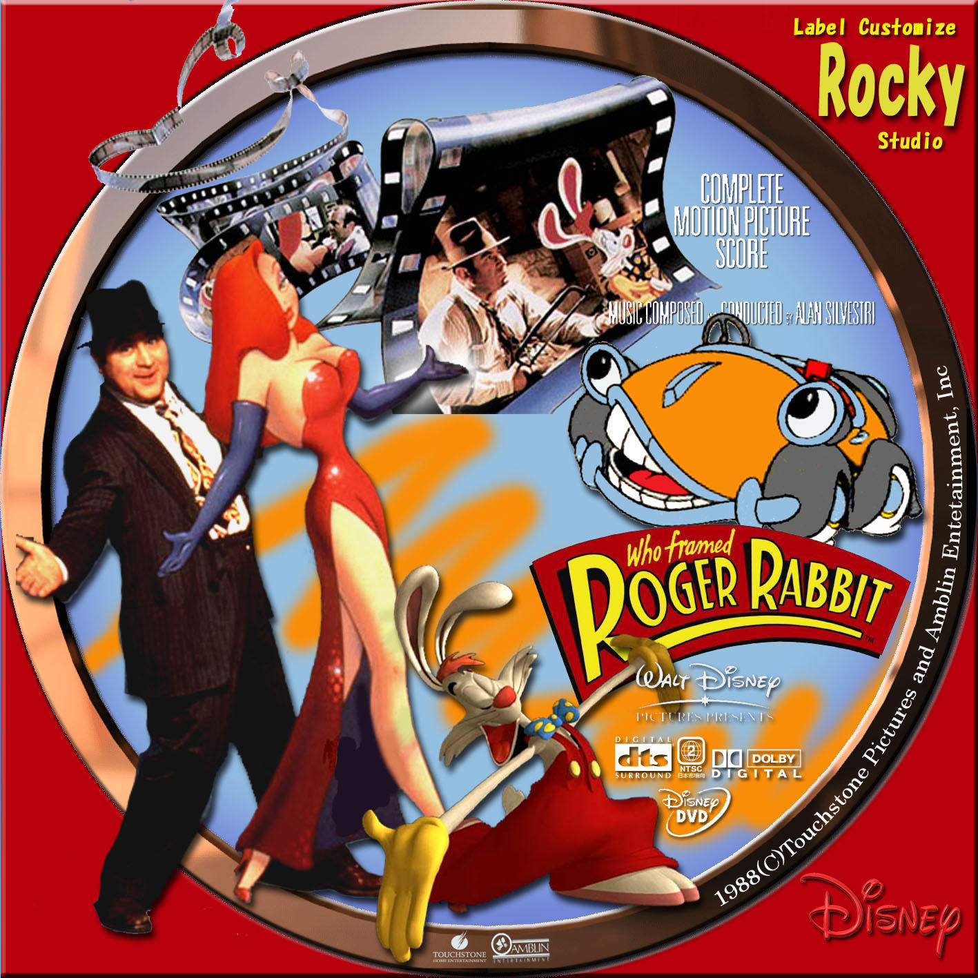 ロジャー・ラビット(1988)    WHO FRAMED ROGER RABBIT