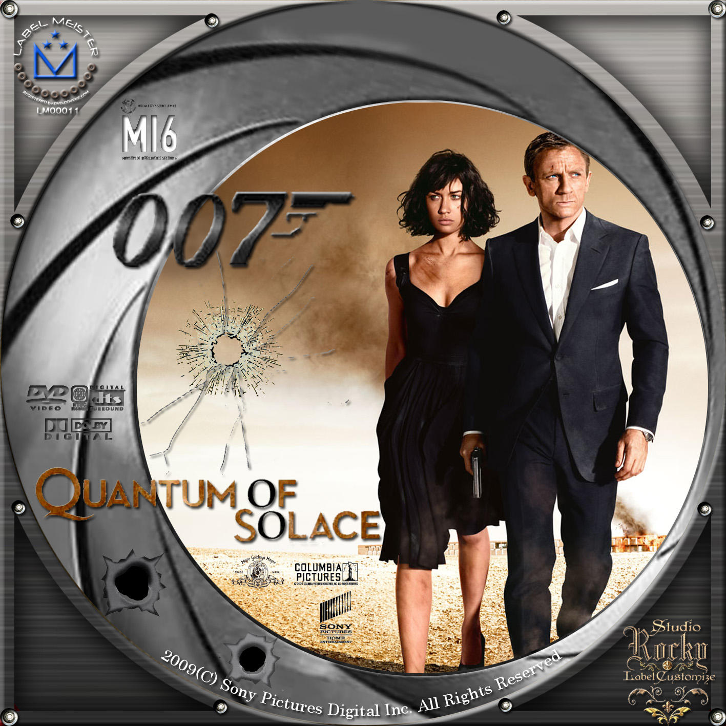 007/慰めの報酬   QUANTUM OF SOLACE