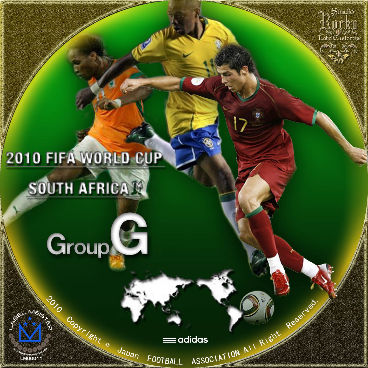 2010 FIFA World Cup South Africa / Group G