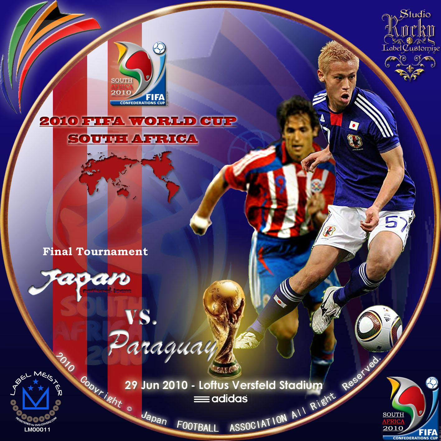 2010 FIFA World Cup South Africa Japan vs Paraguay