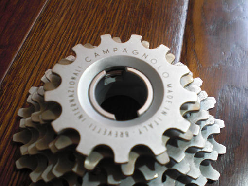 Campagnoloのアルミのスプロケット