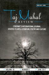 """Taj Mahal Review"" Vol.16 No.1"