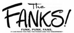 2-2 The FANKS! —FUNK, PUNK, FANS,—