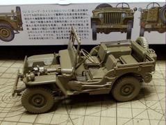 タミヤ 1/35 Jeep WILLYS MB