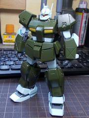 RGC-83 GM CANNON �U HGUC1/144 パチ組み