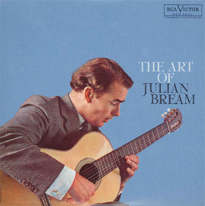 【CD1:The Art of Julian Bream】