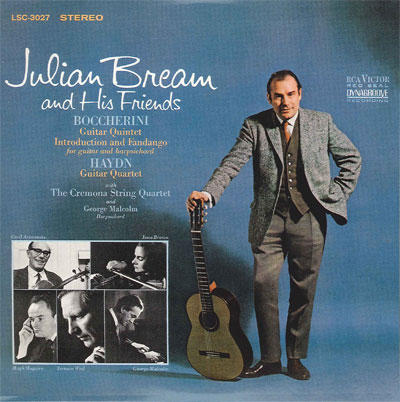 【CD5:Julian Bream and His Friends】