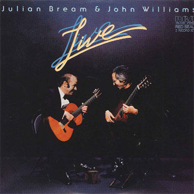【CD9:Julian Bream & John Williams LIVE】