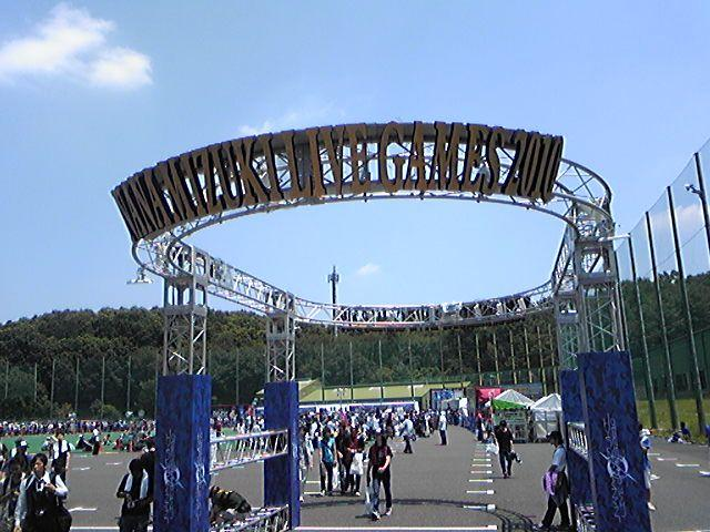 LIVE GAMES 2010 -BLUE STAGE-