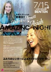 "07/15 ASIAH & DEBRA ARNOTT ""Amazing Night"" @BENTEN"