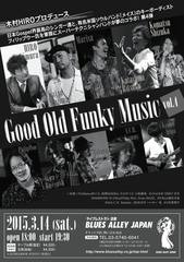 03/14(土) Good Old Funky Music 2015
