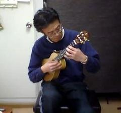 今日のレッスンより Touch  (Jake Shimabukuro cover )