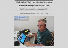 VK9/OH1VR ON 18MHZ CW