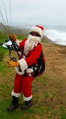 Santa Shiggy at coast